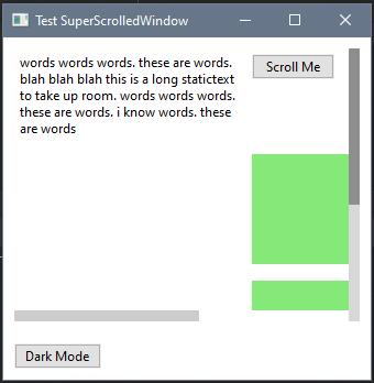 SuperScrolledWindow